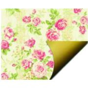 PAPEL DOUBLE FACE - ROSE FLOWERS - A3
