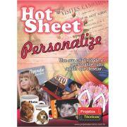 KIT HOT SHEET PERSONALIZE - A4 - C/CD DE IMAGENS + 20 FOLHAS + BASE DE IMPRESSÃO ADESIVA