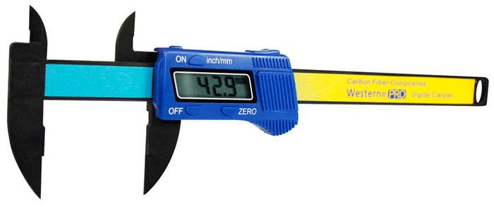 Paquímetro Digital 150mm em Fibra De Carbono + Estilete Profissional Magazine Com 3 Lâminas
