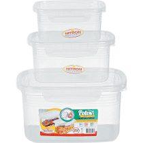 Pote c/ Trava Lateral Alimentos Mantimentos - 2,2L