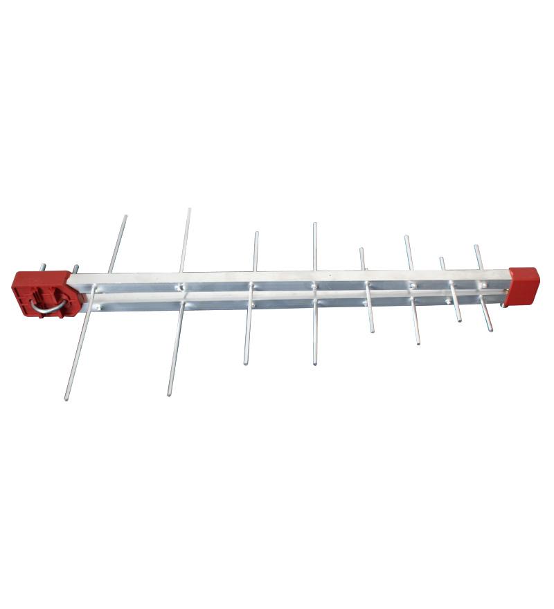 Kit Antena Digital Log 16 com Mastro 50 cm e Cabo coaxial Capte 10 mts - 5 und.