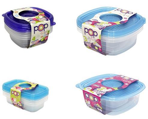 Kit Pote de Alimentos POP - 13 unidades