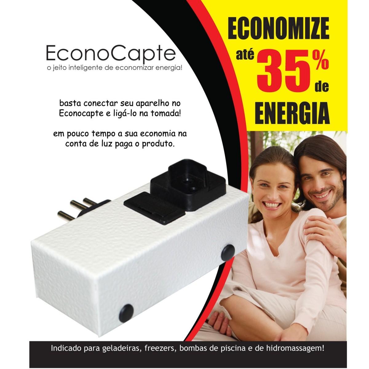 3 Redutor De Energia Inteligente Econocapte Ate 35% Economia