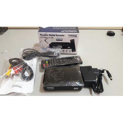 Conversor e Gravador Digital de TV Full HD VT7500