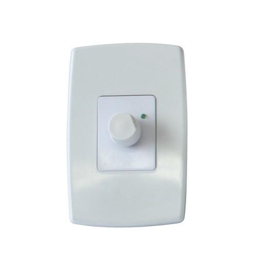 Controle de Ventilador com Dimmer - Espelho - Liga / Desliga