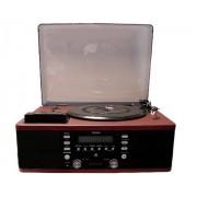 Vitrola Toca Discos Vinil, R�dio, Cd, Usb, Cassete Lpr-550 -