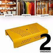 kit Anti-Mofo Eletr�nicos Repel Mofo 2 unidades, Anti-�caro e Fungos, Desumidificador 110v Amarelo