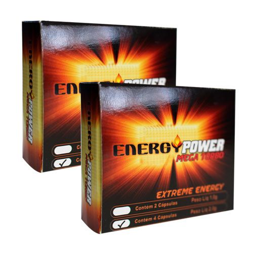 Energy Power Turbo - 2 Caixas com 8 Cápsulas