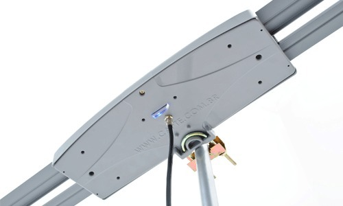 Antena Digital Externa Capte Grafite 4em1 Vhf-uhf-digital-fm Bidirecional