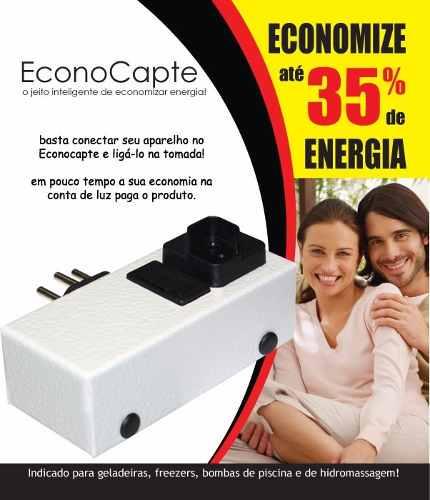 Economizador de Energia Inteligente Econocapte Até 35% de Economia
