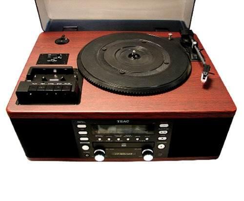 Vitrola Toca Discos Vinil, Rádio, Cd, Usb, Cassete Lpr-550 -