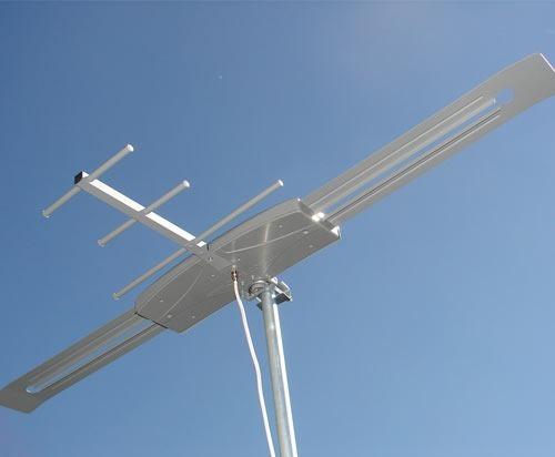 Antena Digital Externa Capte K7 Turbo com Extensor Digital Alcance 70 Km