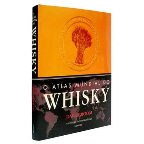 Livro O Atlas Mundial do Whisky