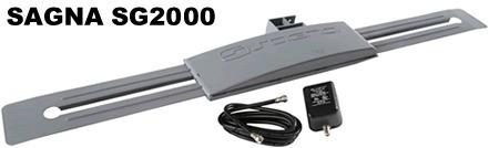 Antena Digital Externa Sagna Sg 2000 - Vhf - Uhf - Digital