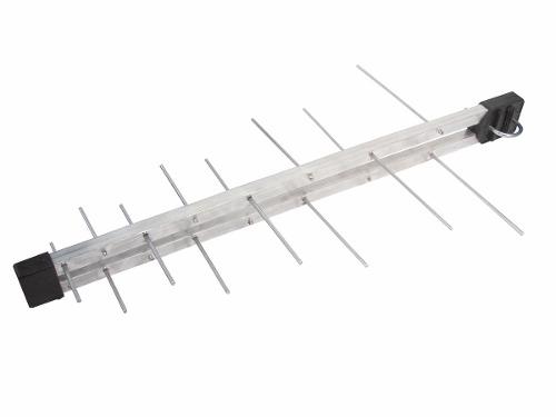 Kit Antena Digital Externa Log 16 elementos Mastro 50 cm e Cabo Coaxial 20 metros