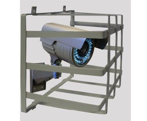 Grade de Proteção de Câmeras de Segurança Capte Protetor - 6 Unidades