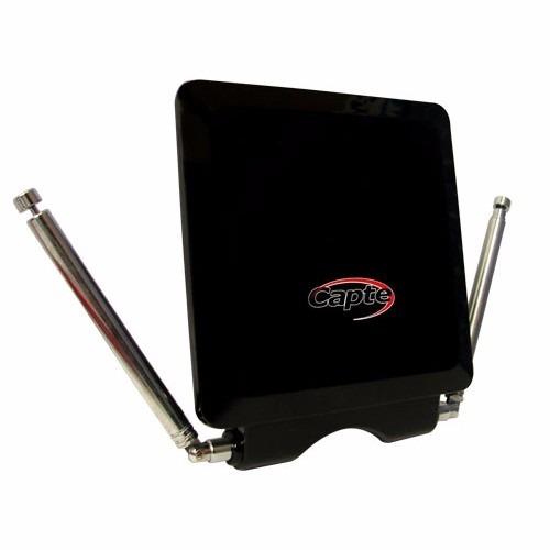 Antena Digital Interna  HDTV VHF/UHF 18DB Capte Platinum