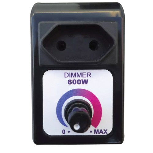 Controlador de Velocidade Eletrônico Dimmer Bivolt Capte