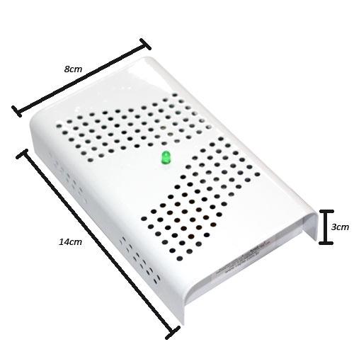 Anti Mofo Eletrônico Branco 110V Repel Mofo Combate microorganismos, mofo, bolor