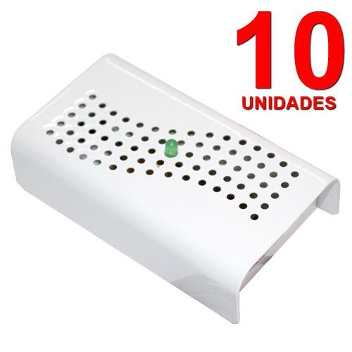 Anti Mofo Eletrônico Desumidificador, Anti Ácaro e Fungos - 10 unidades 220V