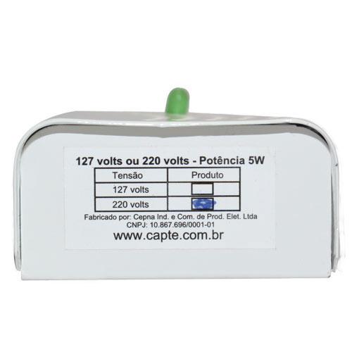 Anti Mofo Eletrônico R14 220V  Kit 3 unid. Branco Repel Mofo, Anti-Ácaro e Fungos, Desumidificador Capte
