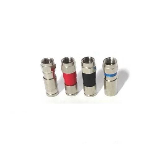Conector de Compressão RG6 pacote com 50 peças Capte
