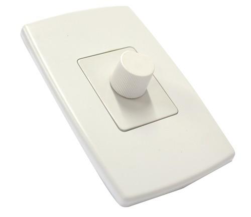 Controle de Ventilador com Dimmer - Espelho - Liga / Desliga Lampada