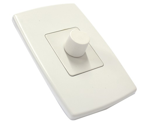Controle de Ventilador com Dimmer - Espelho - Liga / Desliga Ventilador