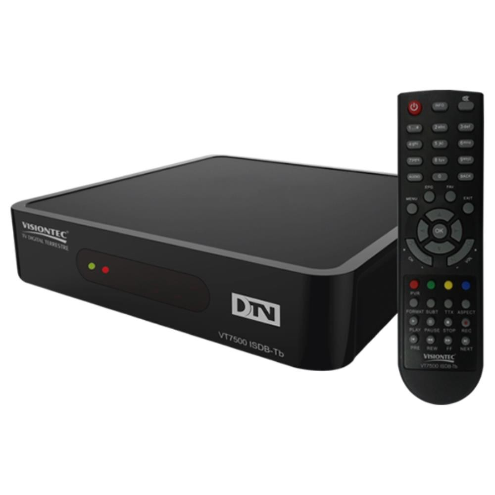 Conversor e Gravador Digital de TV Full HD VT7500