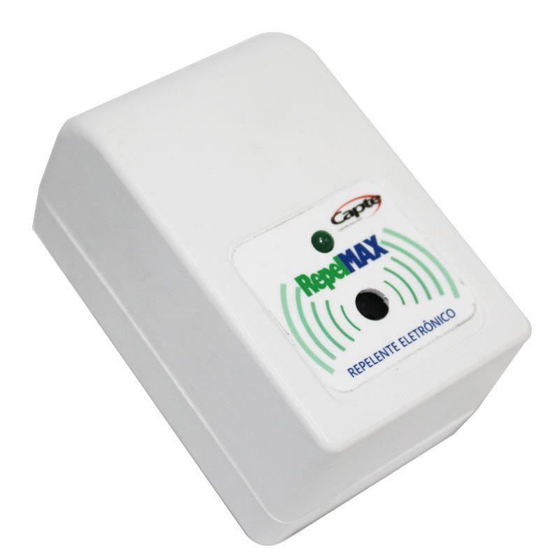 Repelente Eletrônico Repel MAX repele pernilongos e mosquitos - Branco