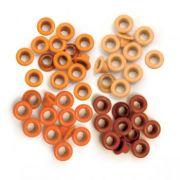 Eyelets Standard Orange - 40 Ilhoses Orange 41574-9