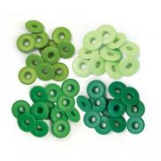 Eyelets Wide Green - 40 Ilhoses Verdes 41588-6