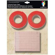 Fita Adesiva Dupla Face Red - Colored Foam Tape