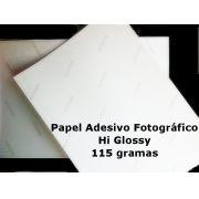 Papel Fotográfico A3 Glossy Adesivo 115g