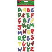 Adesivo Alfabeto de Tecido