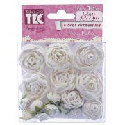 Flores Artesanais Rosas Mistas Coleção FM