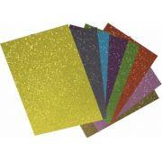 Placa de EVA com Glitter Neon