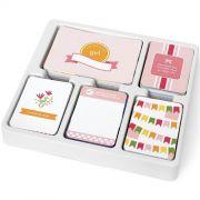 Project Life Kit Bebê Menina - 616 Peças