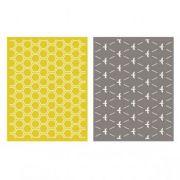 Placa de Textura - LC Embossing Folder Honeycomb