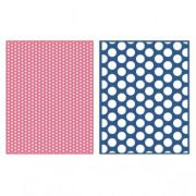 Placa de Textura - LC Embossing Folder Spotted