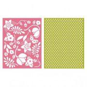 Placa de Textura - LC Embossing Folder Wildflower