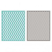Placa de Textura - LC Embossing Folder ZigZag