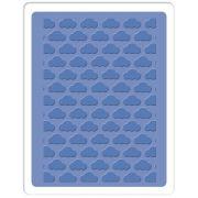 Placa de Textura - Embossing Folder - Nuvem