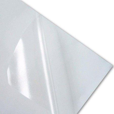 Vinil Adesivo Semi Transparente A4 - PVC  - Minas Midias