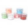 Glitter Silhouette Cores Pasteis - 06 unidades