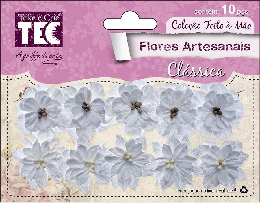 Flores Artesanais Clássicas Coleção Feito à Mão Pureza  - Minas Midias