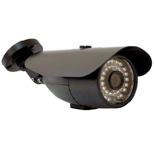 Câmera de vigilância chip digital 600 linhas 36 leds infravermelho 30 metros- Ircut Preta  - Tudoseg Cftv - Sistemas de Segurança Eletrônica