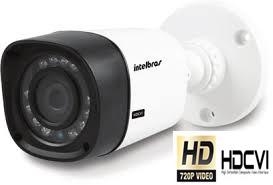 Câmera Infravermelho Intelbras 20 metros HDCVI VHD 1120 Bullet 3.6mm  - Tudoseg Cftv - Sistemas de Segurança Eletrônica