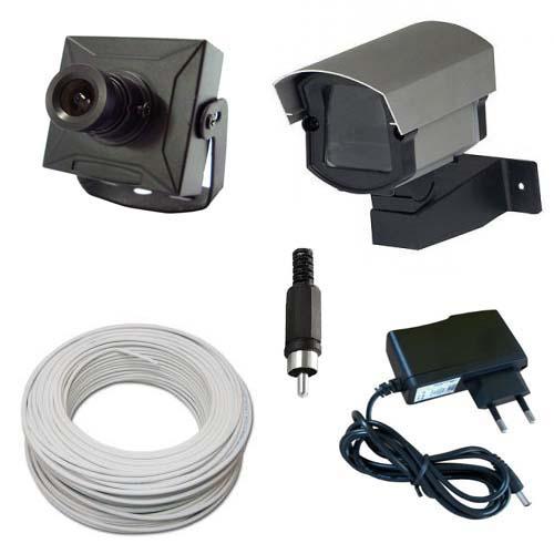Kit Monitoramento 1 Micro Câmera Completo p/ TV - Fácil Instalação  - Tudoseg Cftv - Sistemas de Segurança Eletrônica
