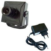 Micro câmera de segurança digital 420 linhas 0,1 lux day night- Fonte Grátis